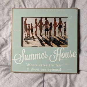"""Other - """"Summer House"""" Picture Frame"""